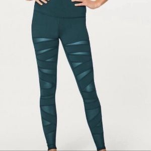 *Special Edition* Green Tech Mesh Lulu Tights